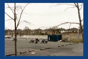 Merton Abbey Mills: Car Park