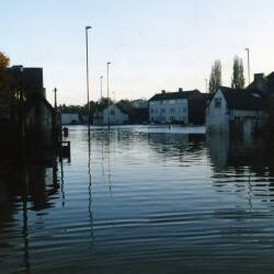 Flooding in 1998, Hereford