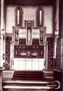 St. Mark's Church,Wimbledon: The altar