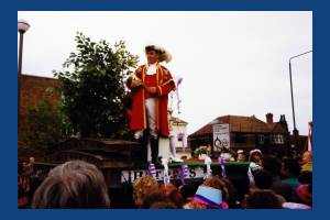 Mitcham May Queen's Float