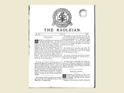 The Radleian 1889 - No.193 July