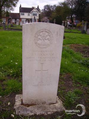 Gravestone of William James Stockham