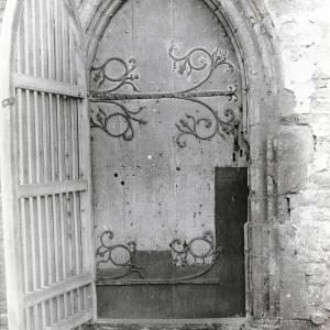 Dore Abbey, exterior of the north door