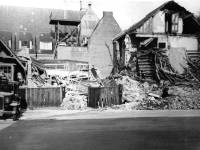 War damage to The Cricketers, London Rd, Mitcham
