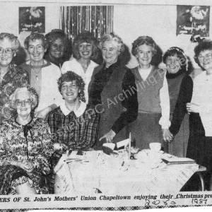 St Johns Mothers Union, Chapeltown 1986