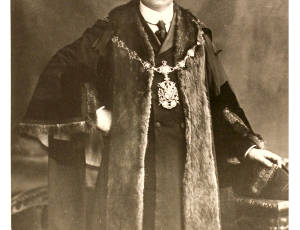 1904-1905, Sir Harry Speakman, Mayor of Leigh