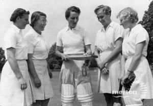 Surrey Women's Cricket Team,  at Mitcham