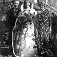 1935 Miss 'Billie Edwards, Lymm Cotton Queen.