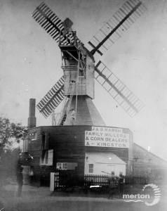 Riflemen near the windmill, Wimbledon Common