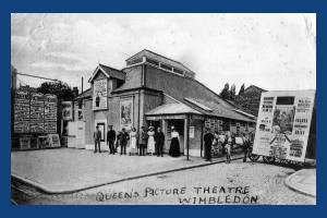 Worple Road, The Queen's Picture Theatre, Wimbledon
