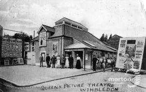 Worple Road, The Queen's Picture Theatre, Wimbledon