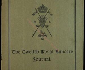 12th Lancers, 1910 June