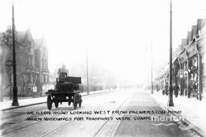 Merton Road, Wimbledon: Delivery wagon