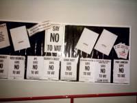 Say No To VAT: A display at Wimbledon Library