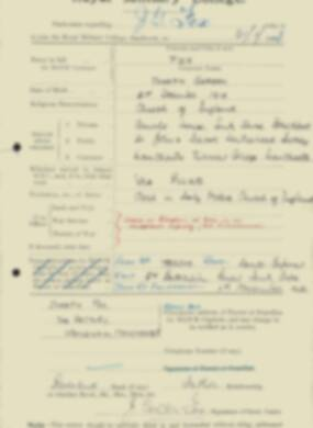 RMC Form 18A Personal Detail Sheets Feb & Sept 1933 Intake - page 45