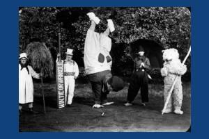 Mummers at the Mitcham coronation celebrations