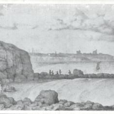 Lady's Haven, Trow Rocks, South Shields   Pencil Sketch