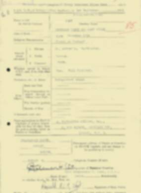 RMC Form 18A Personal Detail Sheets Feb & Sept 1933 Intake - page 229
