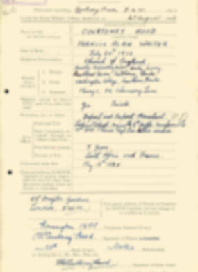 RMC Form 18A Personal Detail Sheets Aug 1935 Intake - page 53