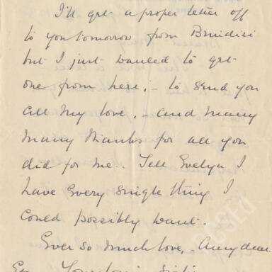 Elsie Inglis to Amy Inglis Simson, April 1915 (Part 4)