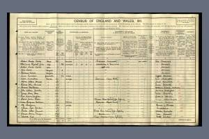 1911 Census for The Globe Inn, Kings Quay Street, Norwich