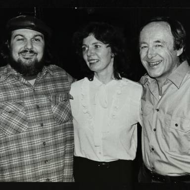 Dr John, Maggie Naber and Chris Barber (left to right)