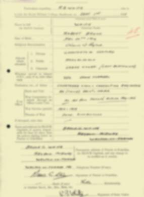 RMC Form 18A Personal Detail Sheets Feb & Sept 1933 Intake - page 307