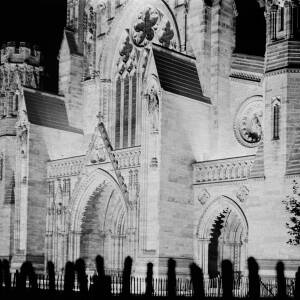 Cathedral Illuminated 1945 VE Day