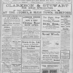 Hereford Journal - 19th December 1914