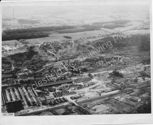 Aerial View of Thorncliffe Works Welding Bay