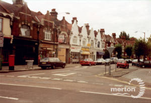 Merton Hall Road, Merton Park