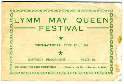 1954, Lymm May Queen Festival