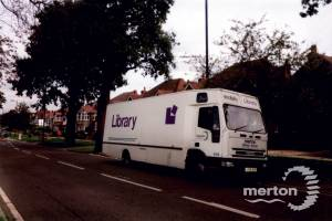 Merton Mobile Library at Cannon Hill