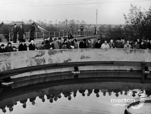 Morden Sewage Works: Opening of Biofloculation Plant