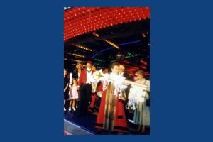 Mayor, Mayoress, Toastmaster & Chief Executive, Opening ceremony, Mitcham Fair