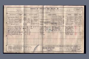 PeddieJ Census 1911 Caroline Road