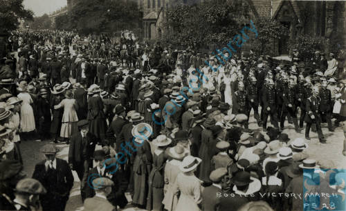 Bootle Victory Parade WW1 July 1919