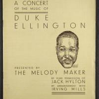 Duke Ellington Orchestra British Tour – July 1933 001