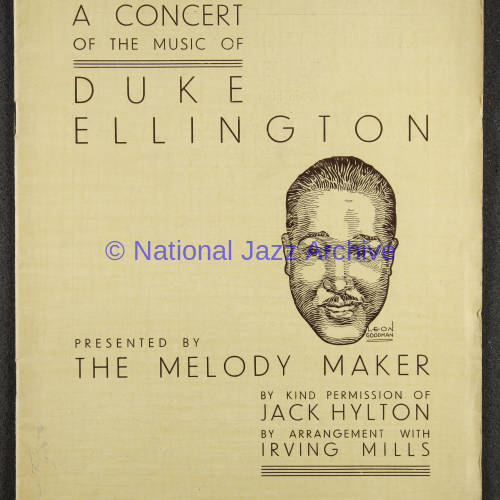 Duke Ellington Orchestra British Tour – July 1933 001