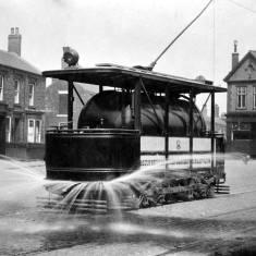Tank - Car. South Shields Tramways.