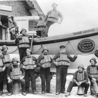 Southport Lifeboat Mary Anna and crew, 1886
