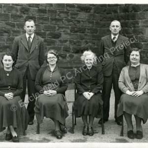 1950 Grenoside School Staff