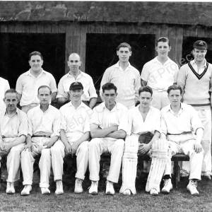 Grenoside Cricket Team c 1950s.