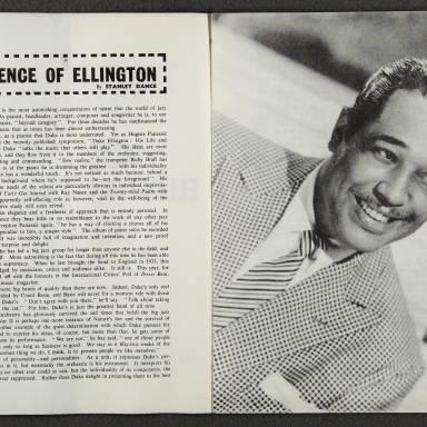 Duke Ellington Orchestra British Tour – October 1958 003