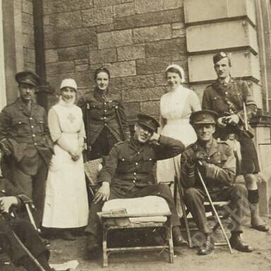 Craigleith Military Hospital (Western General Hospital Edinburgh), 1917-1918