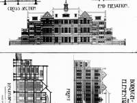 Building plans for Pelham School, Wimbledon
