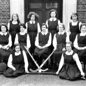 Ross Grammar School School hockey team, c.1930s