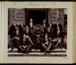 Photograph Album - 1911-1916_0029 Warden & Prefects 1914.jpg