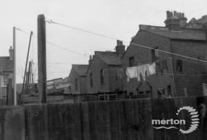 Merton High Street, Nos. 72-62: Rear view