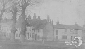 Lower Green, Mitcham: Henty's Corner